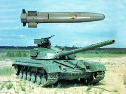 Kobra. Tank guided weapon system